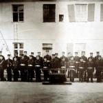 1910 wurden Uniformen für 400,00 Mark angeschafft