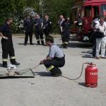 Vorbereitung Fettbrand