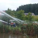 1. Übung mit der neuen Pumpe