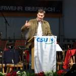 Bayerischer Staatsminister der Finanzen Dr. Markus Söder